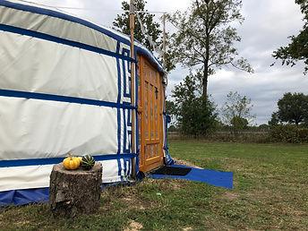 Yurt, bed and breakfast, in the Achterhoek, Netherlands.jpg