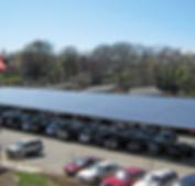 commercial solar carport