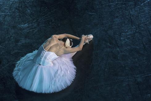 A prima ballerina in the role of _Odette