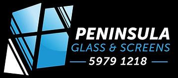 Peninsula Glass and Screens - logo 2020