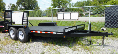 6.5'x 18' ALL PURPOSE FLOAT TRAILER - A618T7