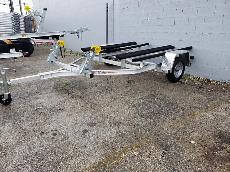 ALUMINUM DOUBLE PERSONAL WATERCRAFT TRAILER