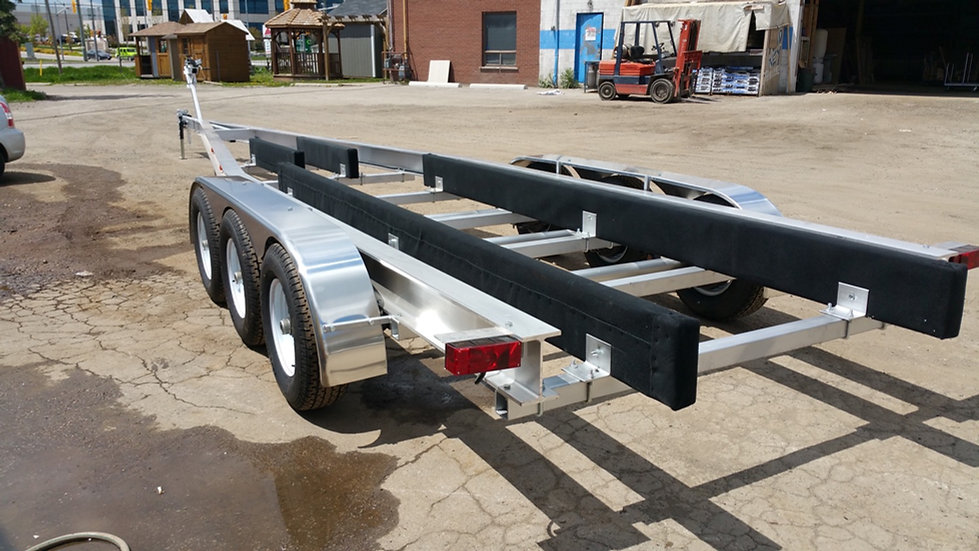 Mayhem trailers aluminum 15k tri axle