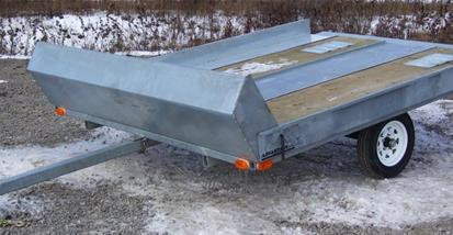 4'x10' SNOWMOBILE TRAILER - FB410S