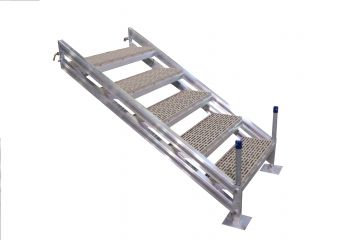 4 STEP ADJUSTABLE DOCK STAIRCASE - ESC-4