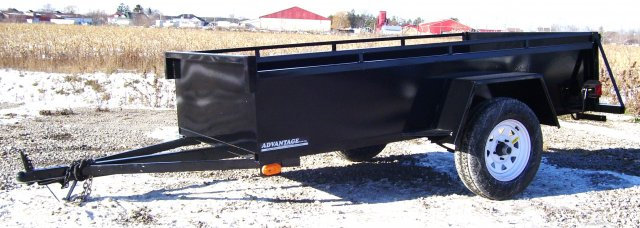 5'x 8' UTILITY BOX TRAILER - BT583