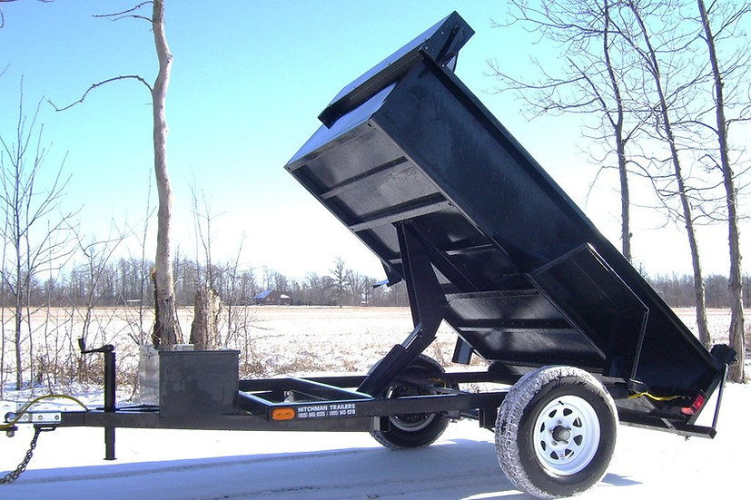 5'x 8' MINI DUMP TRAILER - MD583EB