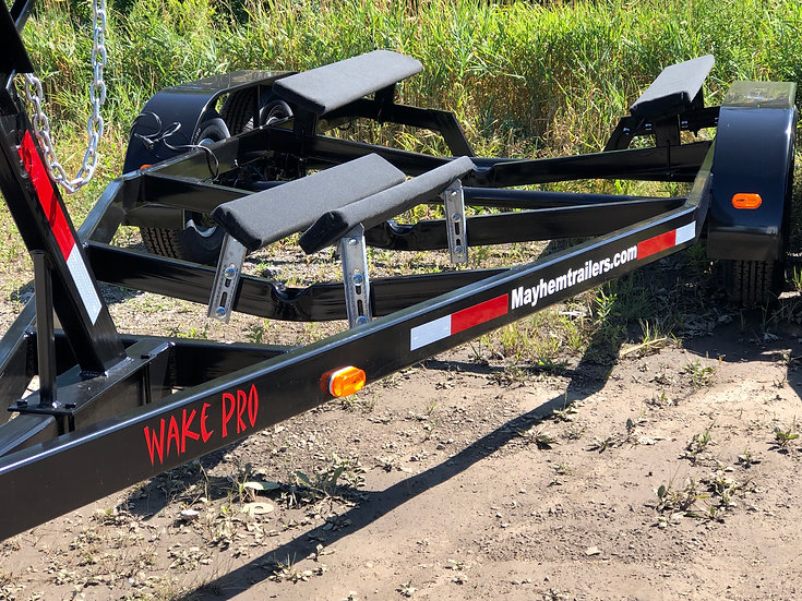 19'-28' 10,500LB STEEL WAKE BOAT TRAILER