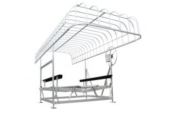 """132"""" x 28' WAKEBOARD DOCK CANOPY - T-13226WB"""