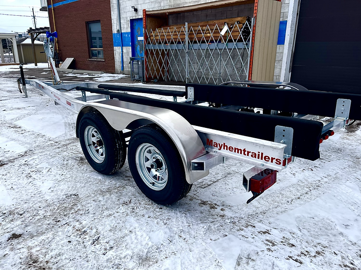 Mayhem trailers aluminum tandem