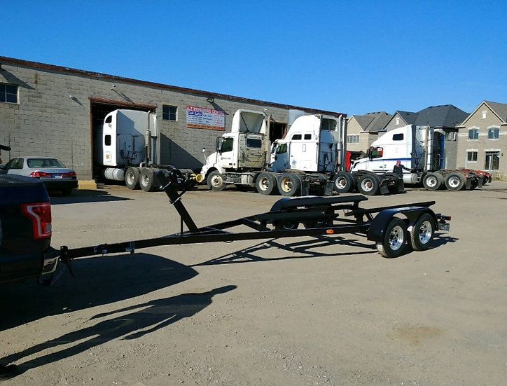 20'-28' 7000LB STEEL BOAT TRAILER