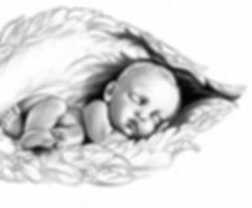 Baby in Angel Wings