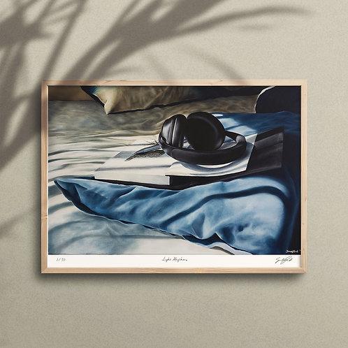 Light Rhythms - A3 Limited Edition Print