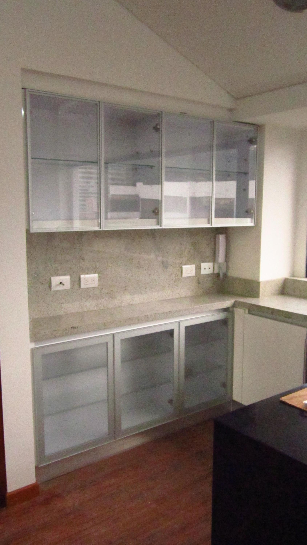 cocina puerta vidrio