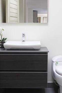 Baño moderno remodelación