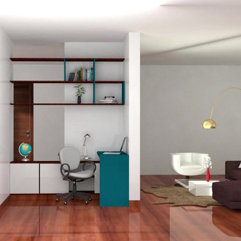 Mobiliario funcional y moderno.