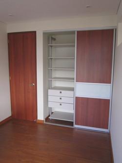Closet puerta corredera