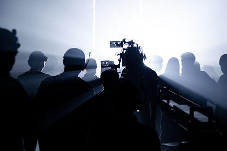 shooting-studio-scenes-silhouette-images