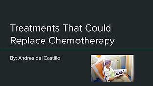 Treatments that Could Replace Chemothera