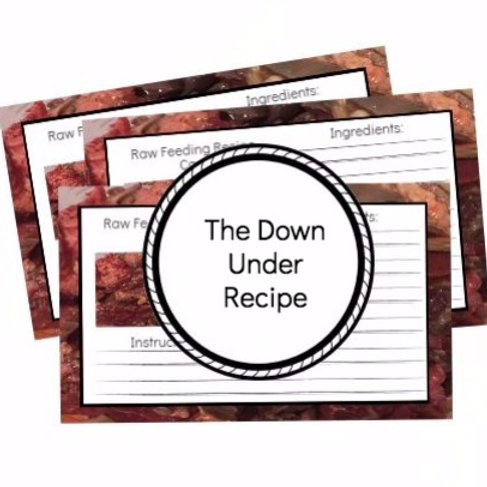 The Down Under Recipe