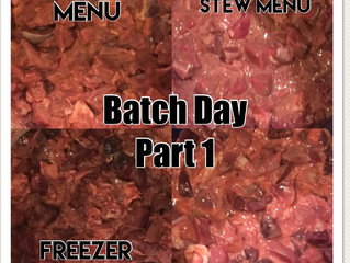 Batch Day Part One