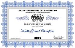 Double Grand Champion Title