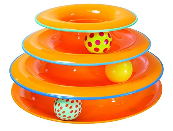 Tower of Tracks Ball Toy