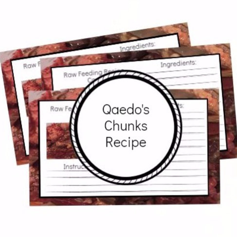 Qaedo's Chunks Recipe