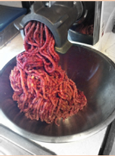 Grinding meat for raw feeding