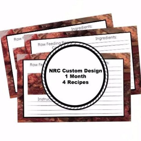 NRC Custom Design 1 Month 4 Recipes