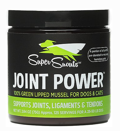 Super Snouts Joint Power Green Lipped Mussel