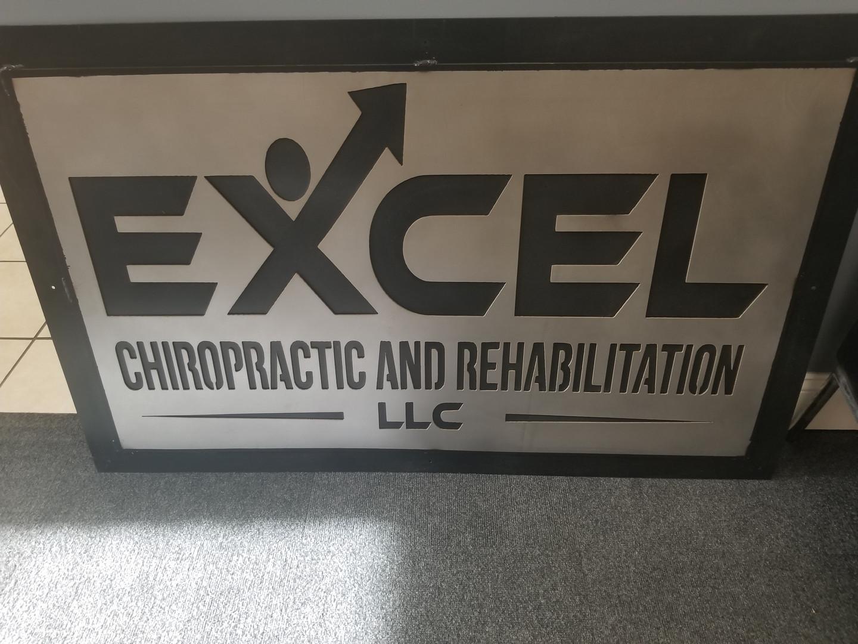 Excel Chiropractic Sign