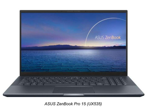 ASUS Announces the Availability of the All-New ZenBook Pro 15 (UX535) forCreators in Singapore