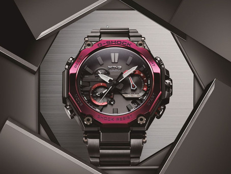 G-SHOCK MT-G Series Watches with Newly Developed Dual Core Guard Structure
