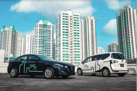 GetGo launches 400-strong carsharing fleet in Singapore