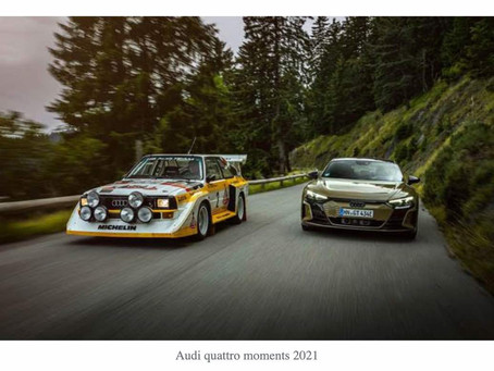 The legendary quattro and five-cylinder engine