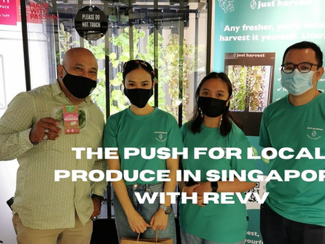 The push for local produce in Singapore
