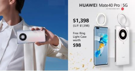 HUAWEI Announces Limited Time Offer for Flagship Phone HUAWEI Mate 40 Pro 5G