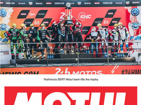 Motul 300V proves reliability by conquering double victory at FIM Endurance World Challenge 2021