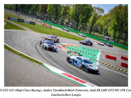Strong start for the Audi R8 LMS GT2