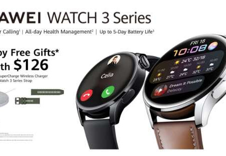 Huawei launches flagship eSIM smartwatch HUAWEI Watch 3 Series powered by HarmonyOS in Singapore