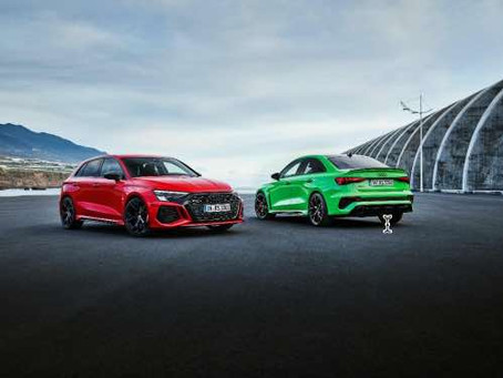 The new Audi RS 3: unmatched sportinesssuitable for everyday use