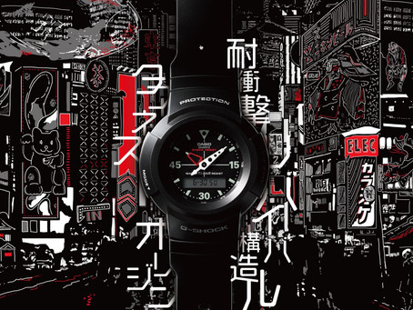 Casio to Release Watches Reprising the 1989 First-Ever Analog-Digital Combination G-SHOCK AW-500