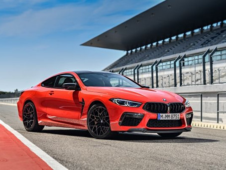The first-ever BMW M8 Competition Coupe now available in Singapore.