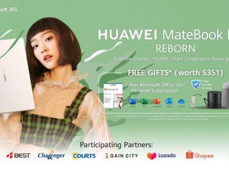 Huawei Launches Ultralight HUAWEI MateBook D 14 with Long Battery Life