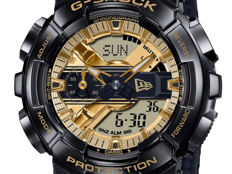 G-SHOCK reunites  with new era to launch a Limited  Edition Timepiece