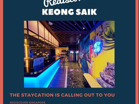 Rediscover Keong Saik staycation package