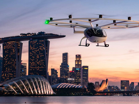 Volocopter & Geely: Volocopter Model at Auto Shanghai  2021 Bringing Electric Air Taxis to China