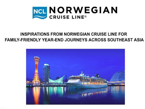 Inspirations from Norwegian cruise line for family-friendly year-end journeys across Southeast  Asia