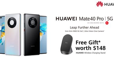 Huawei Brings the Powerful HUAWEI Mate 40 Pro to Singapore on 12.12